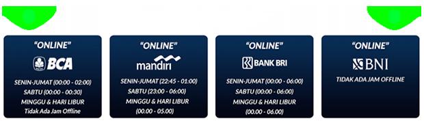 jadwal bank dewa slot 888